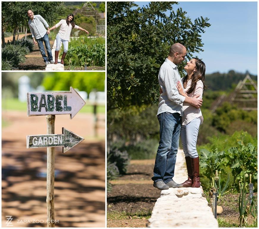 Babylonstoren Couple Photos
