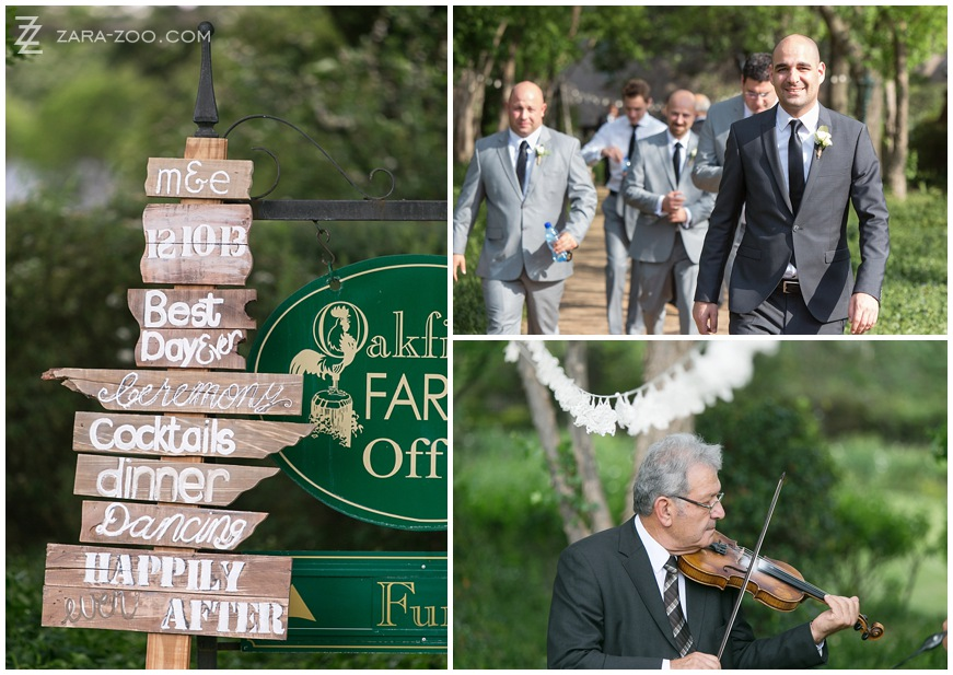Wedding at Oakfield Farm