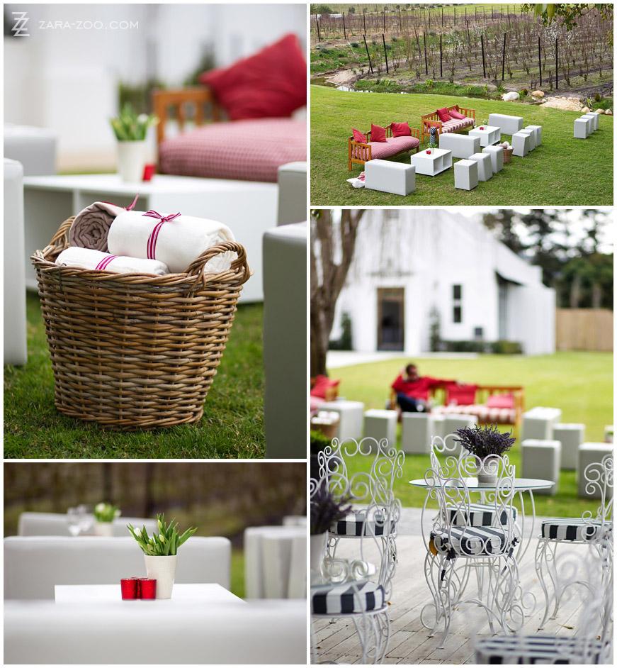 Garden Decor Cape Town: Brenaissance Wedding In Winter