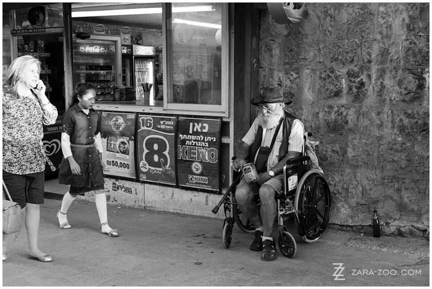 Israel Beggar Photos