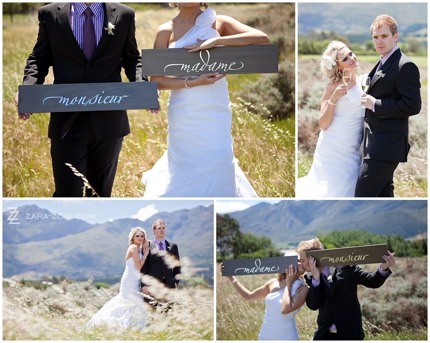 Le Franschhoek Wedding Photos