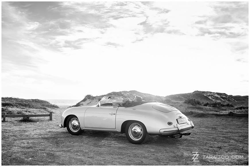 Old Porsche Couple Photos