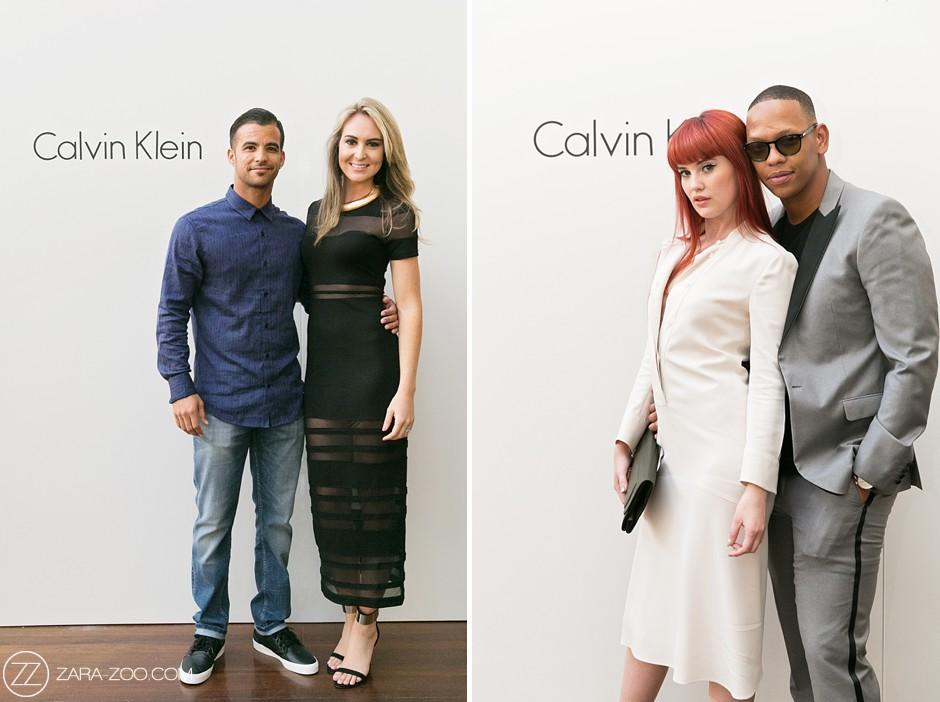 Calvin Klein Store Opening