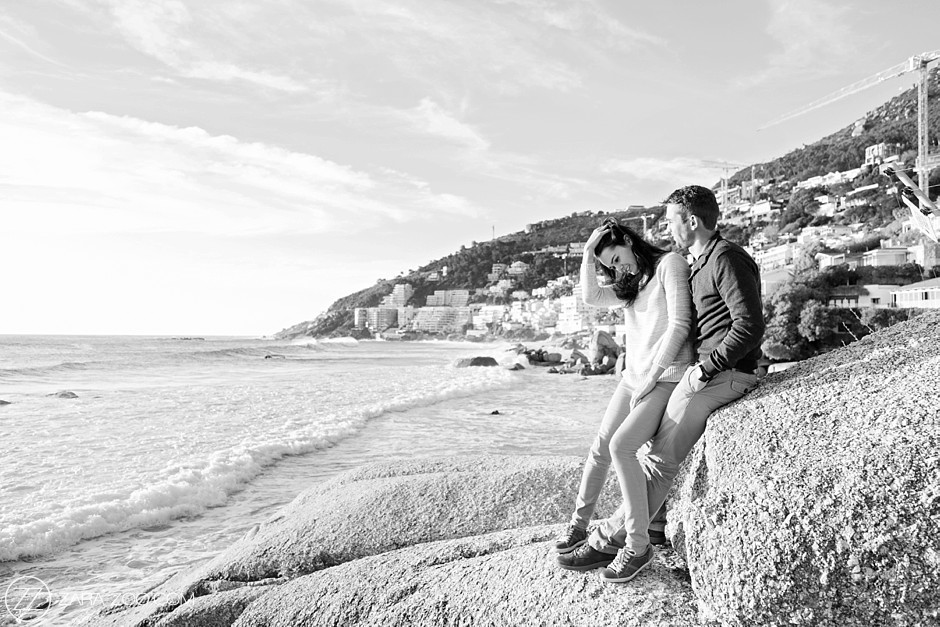 Clifton Beach Couple Shoot