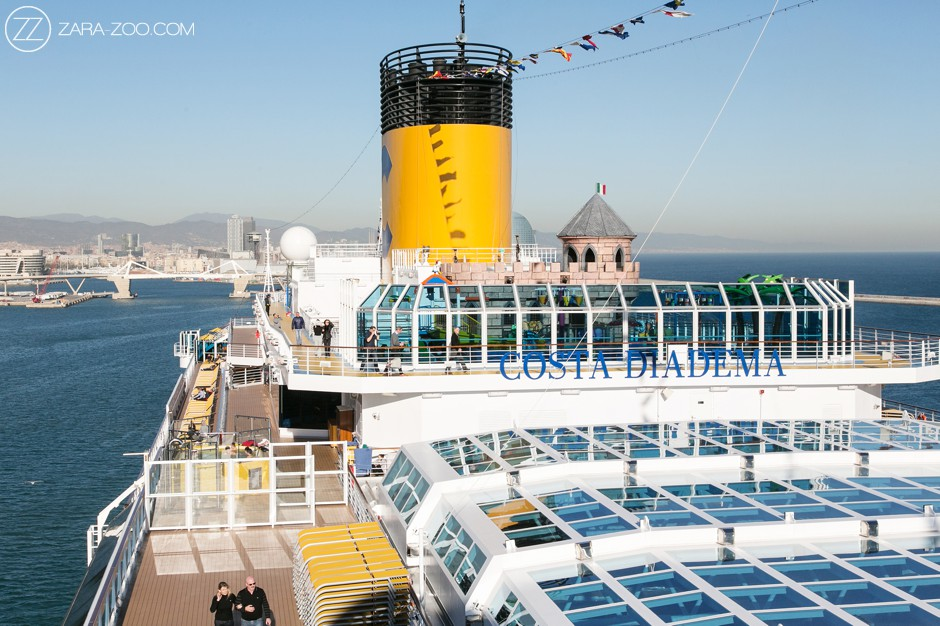 Corporate Travel Incentive photos on the Costa Diadema