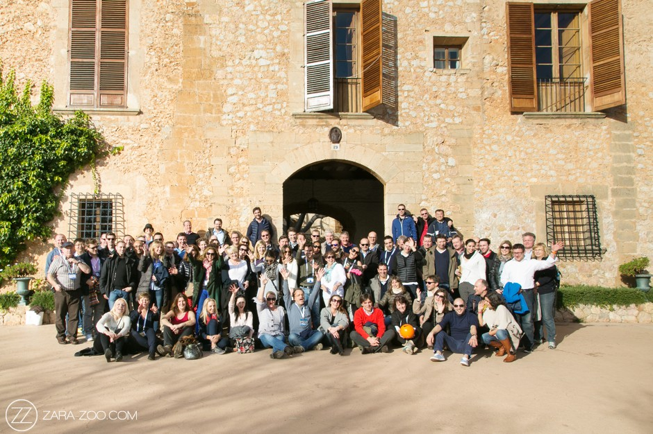 Corporate travel incentive group photos in Italie