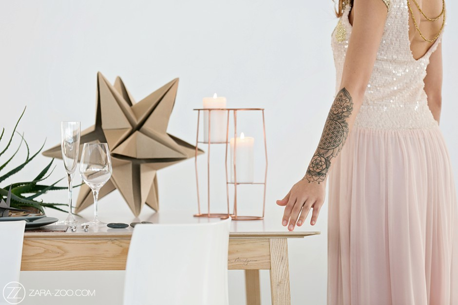 Modern Styled Photo Shoot