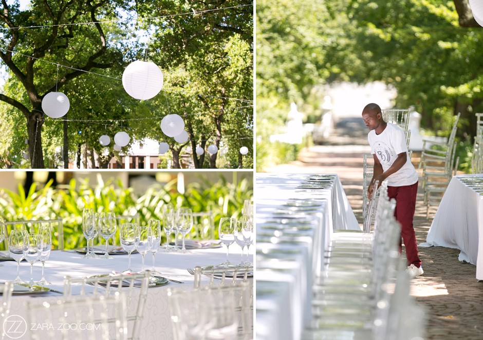 Outdoor Wedding Decor South Africa