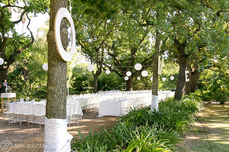 Garden Weddings South Africa