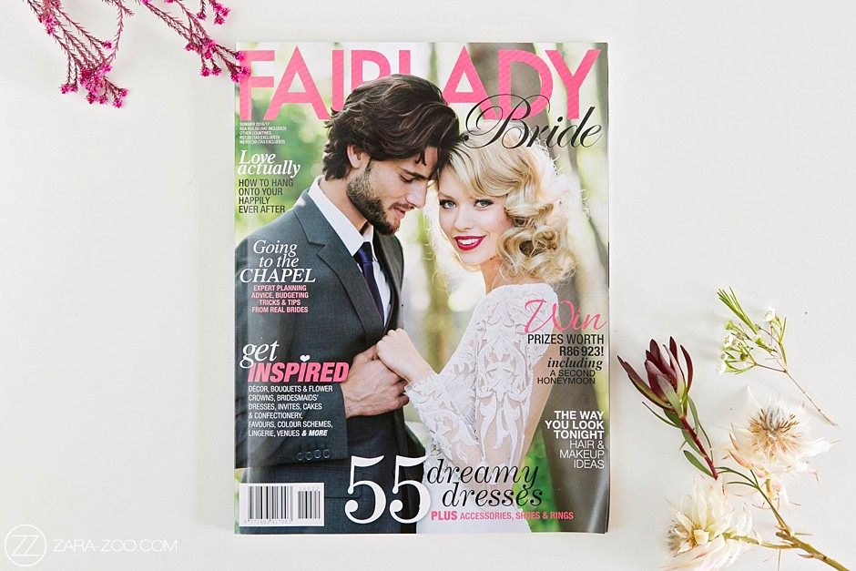 Magazine Feature - Fairlady Bride