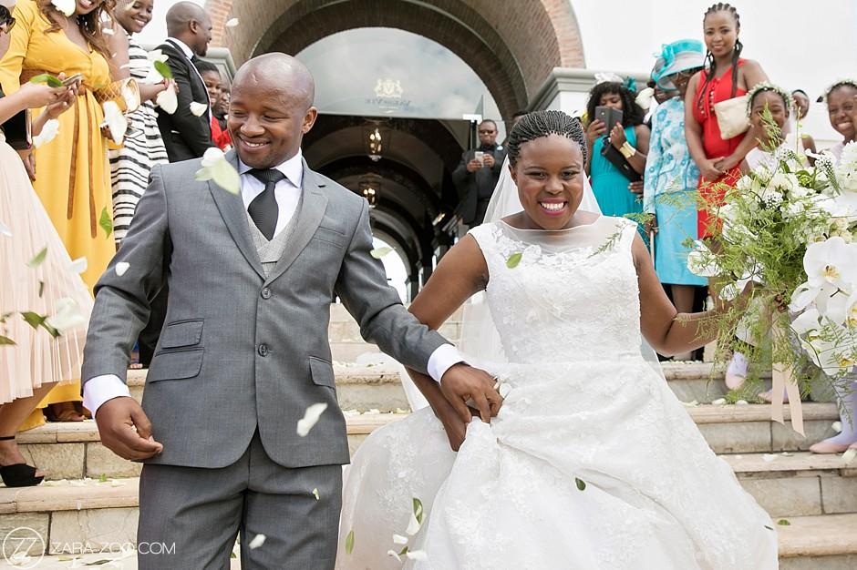 Beautiful African Couple Wedding Photos