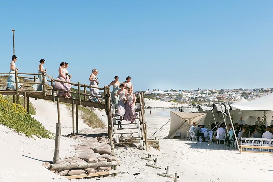Wedding at Strandkombuis