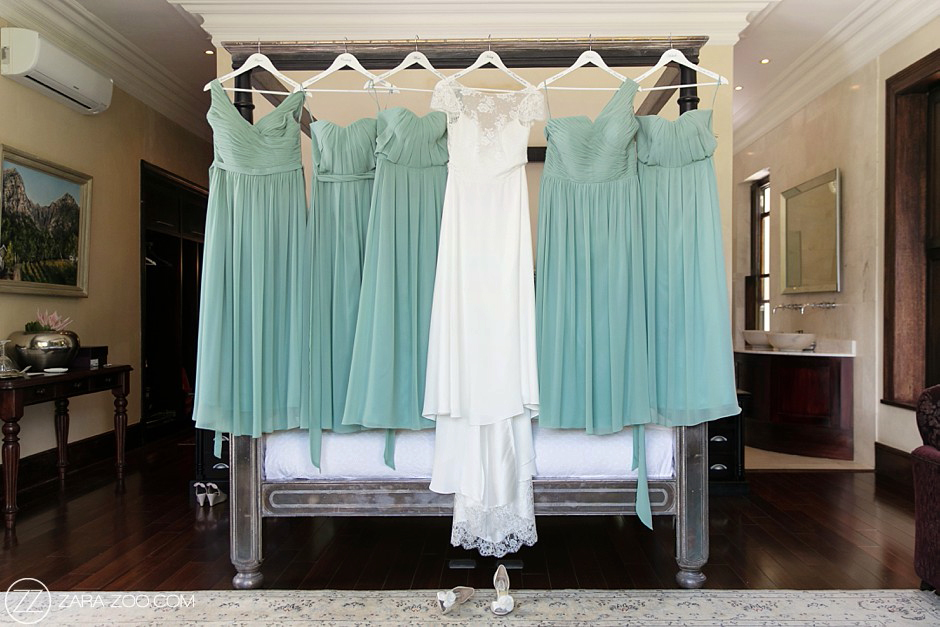 Wedding Dress and Bridesmaid Dresses