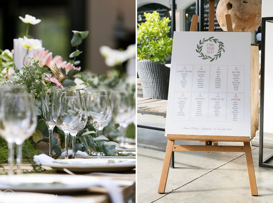 Wedding Decor and Seating Plan