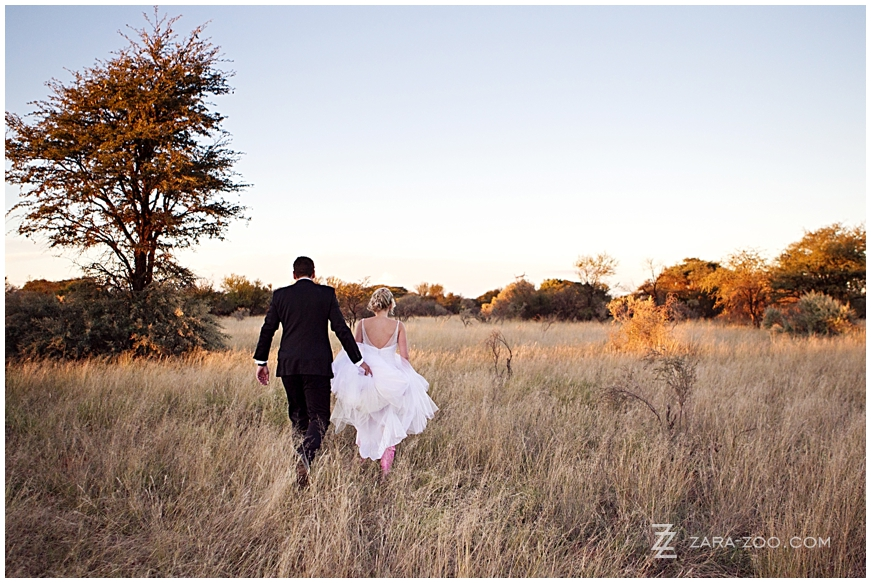 Kalahari Wedding in Kuruman North Cape