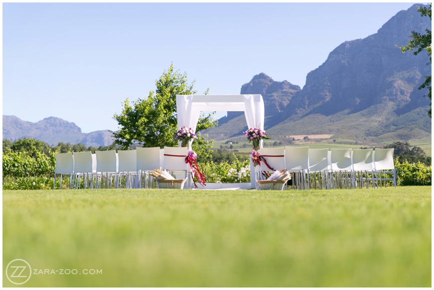 Outdoor Weddings Cape Town South Africa