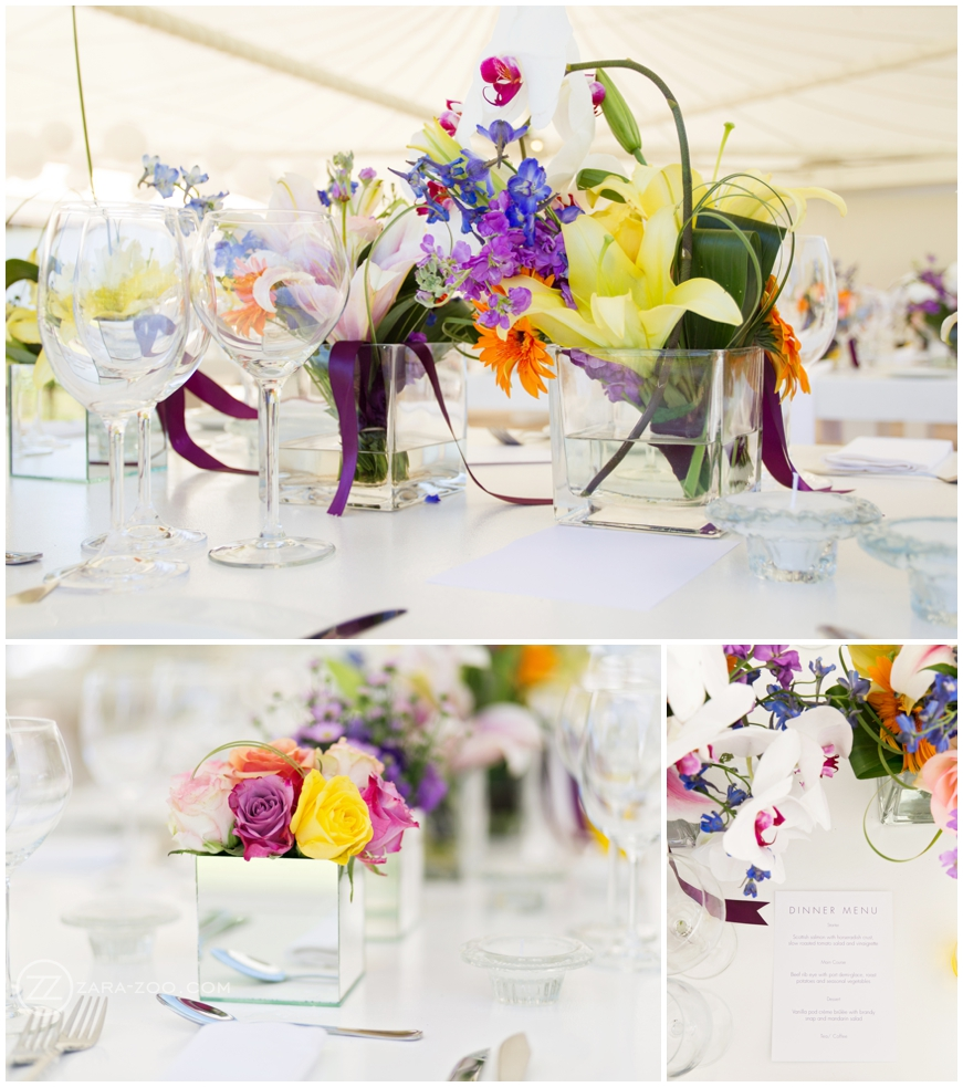 Bright Colourful Wedding Flowers Inspiration