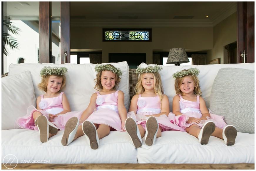 Cute Flower Girls Wedding Photography