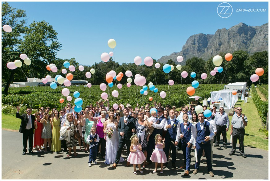 ZaraZoo Wedding Photographers Stellenbosch