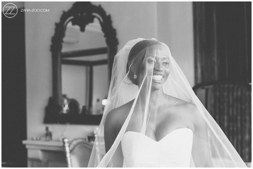 Wedding Photography Bride with Veil