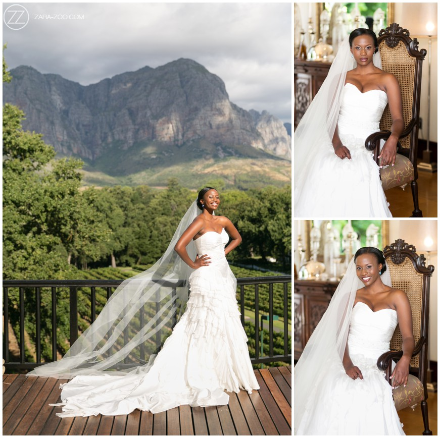 Bride Photoshoot Cape Town ZaraZoo