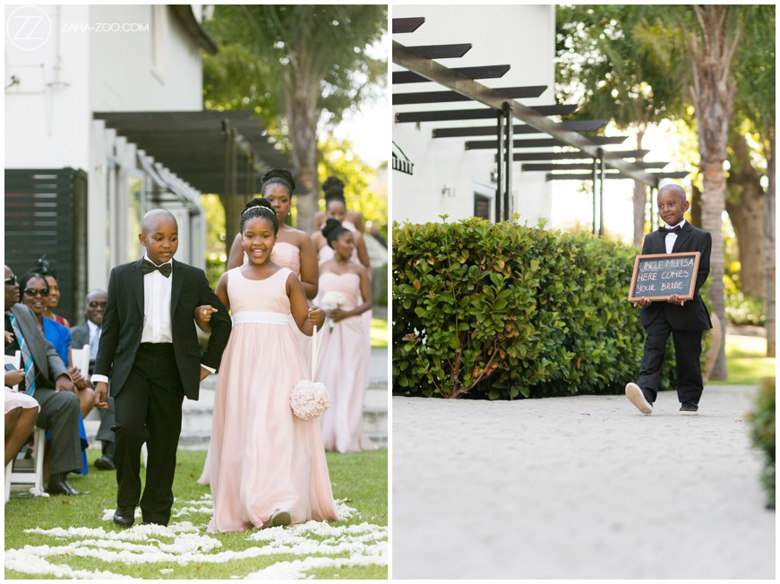 Kids at Weddings Flower Girl Ring Bearer