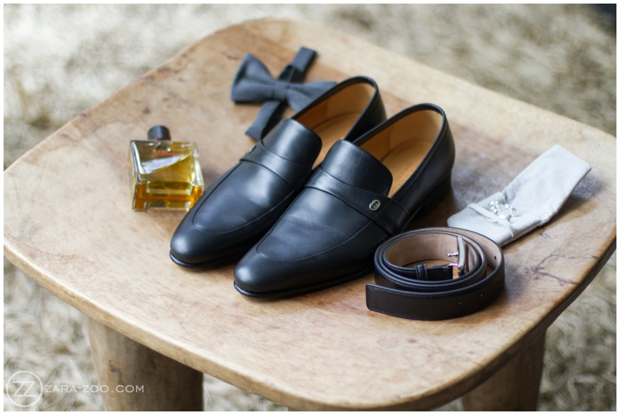 black leather grooms shoes