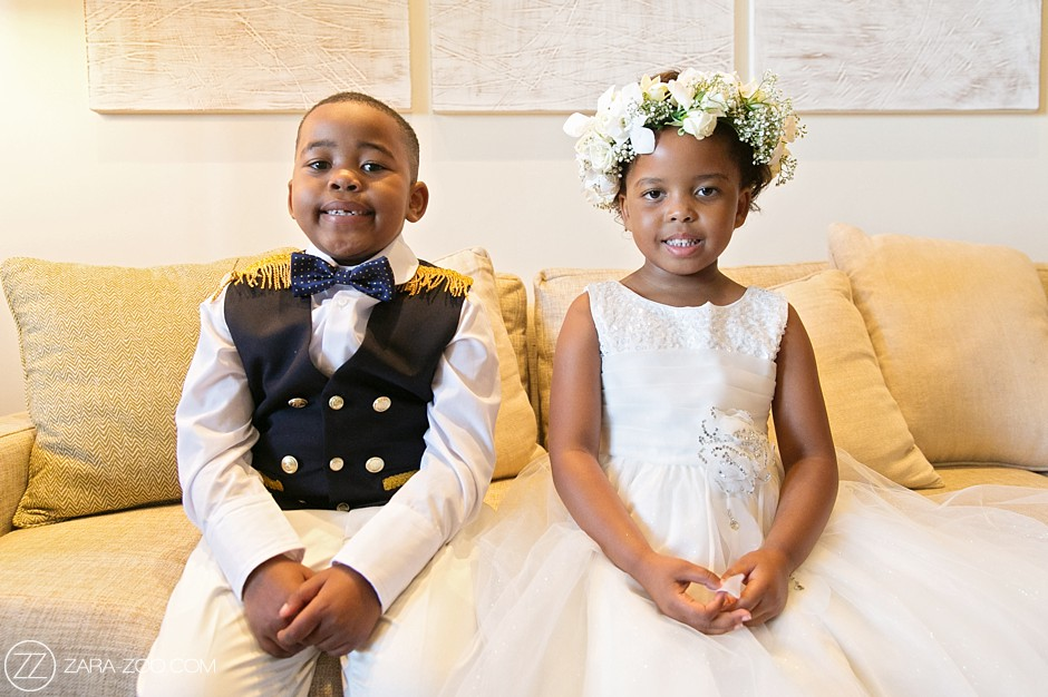 Flower Girl and Page Boy at Weddings