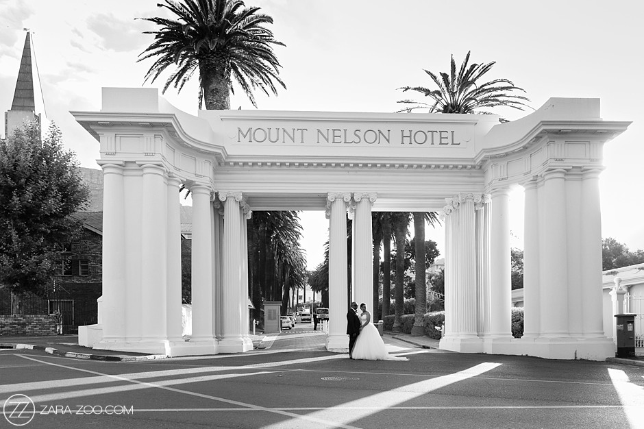 Weddings at Mount Nelson Hotel Cape Town