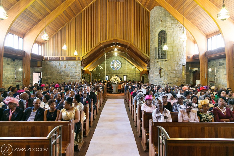 Church Wedding in Johannesburg, Gauteng
