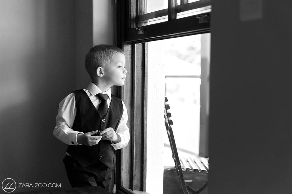 Cute Boy in Suit for Wedding