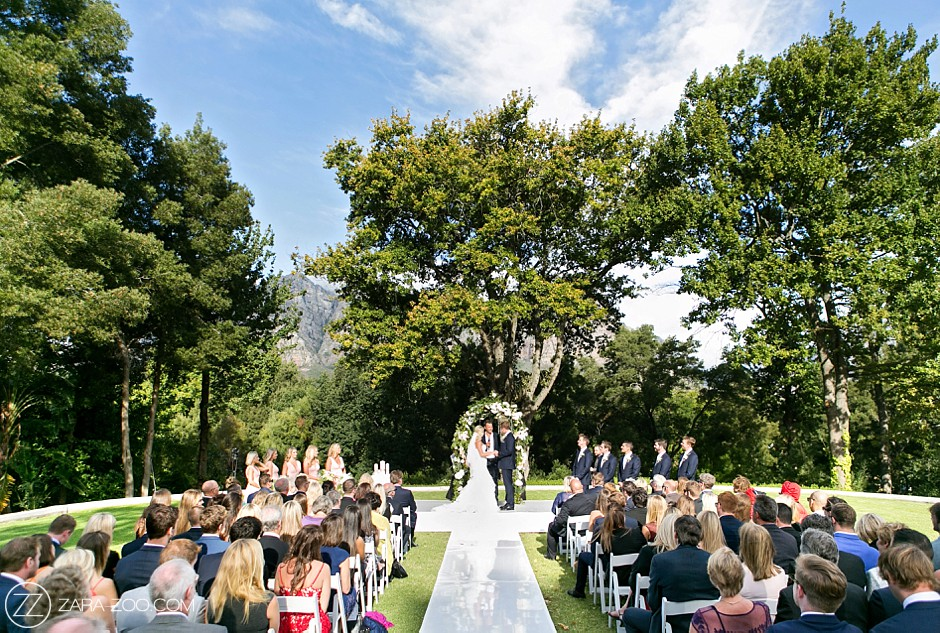 Outdoor Weddings South Africa