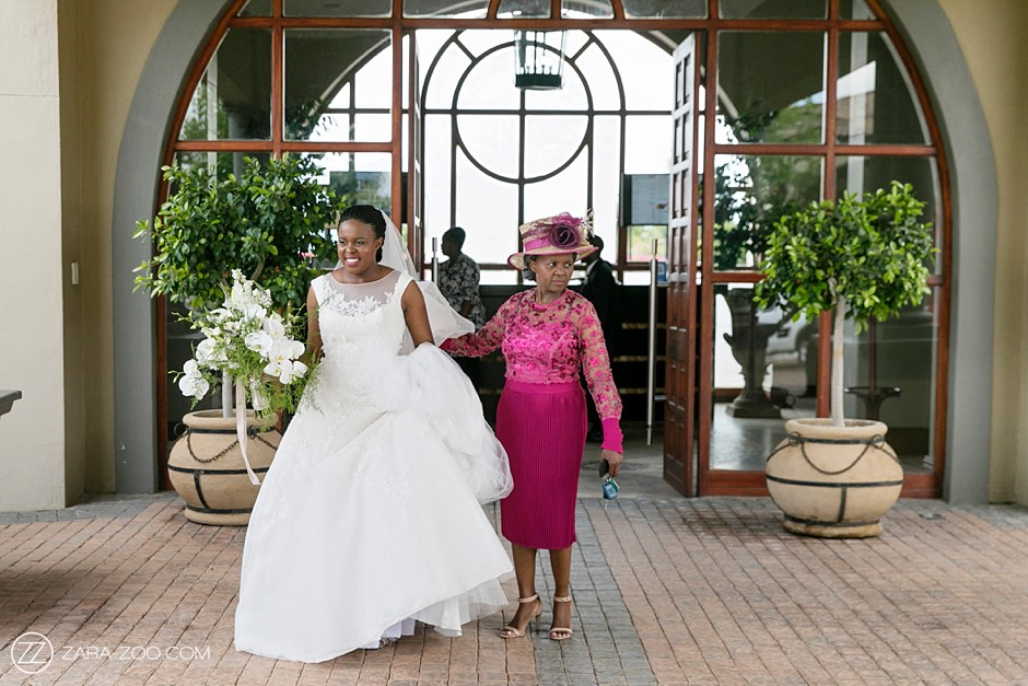 African Wedding Bride and Mother of the Bride