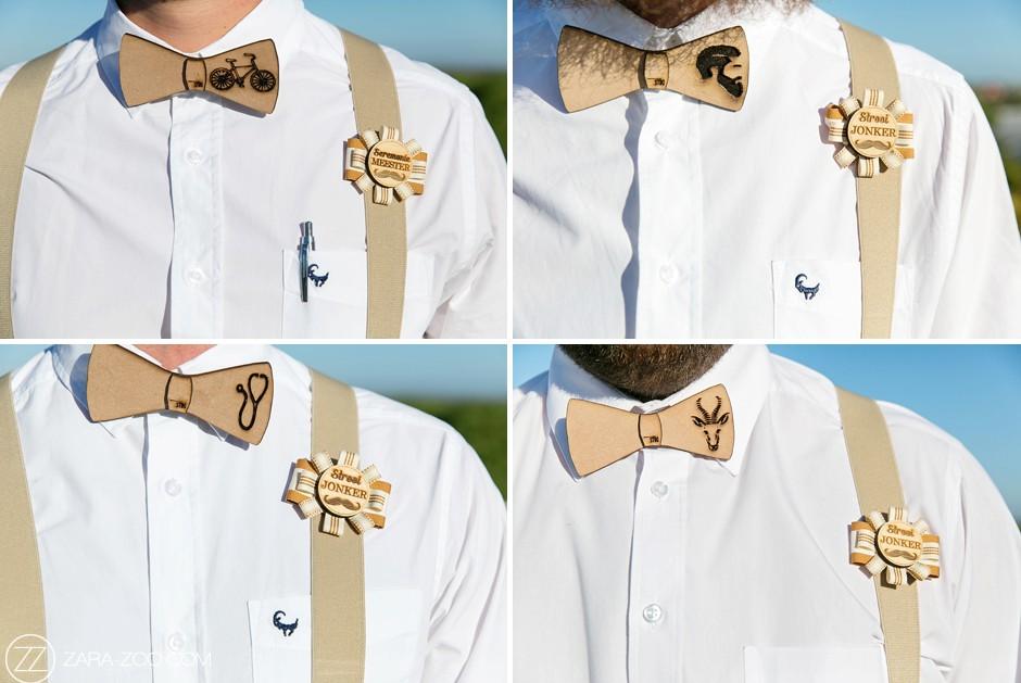 Wooden Bow Ties for Groomsmen