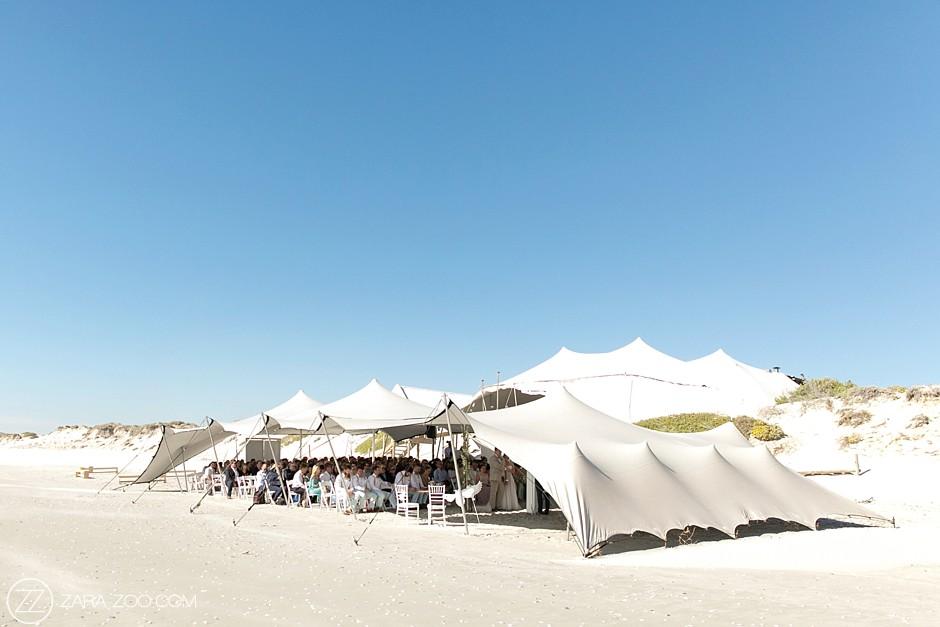 Beach Wedding Venues Tent