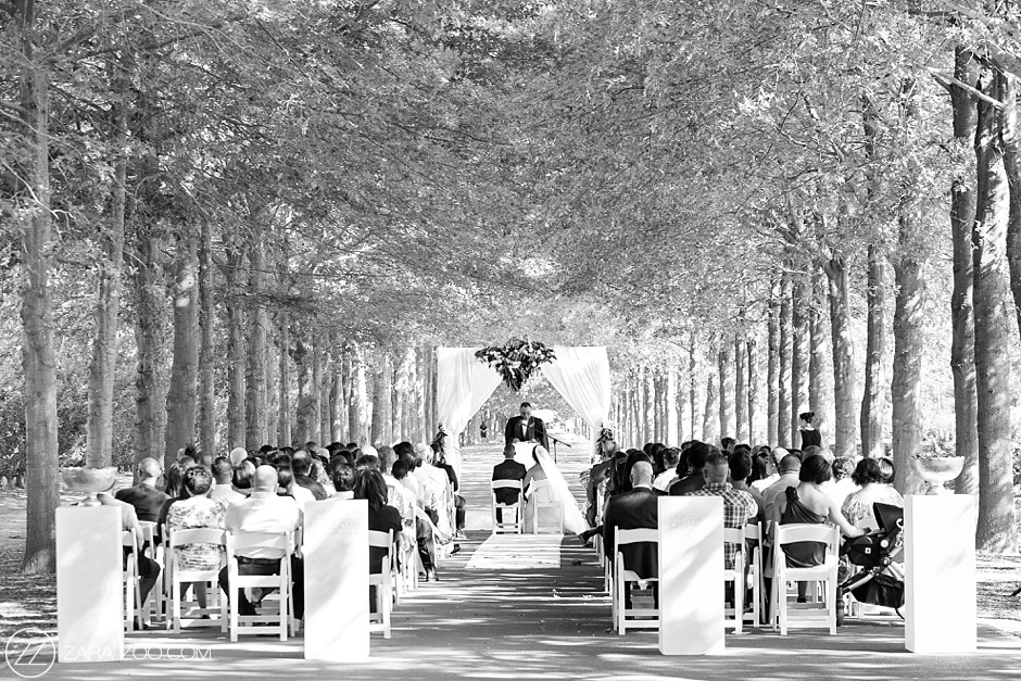 Wedding at Lourensford South Africa