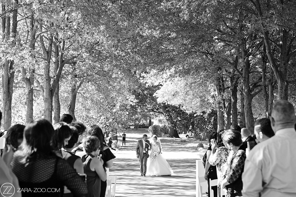 Black and White Weddings at Laurent Lourensford