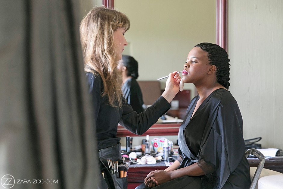 Hair and Makeup wedding South Africa
