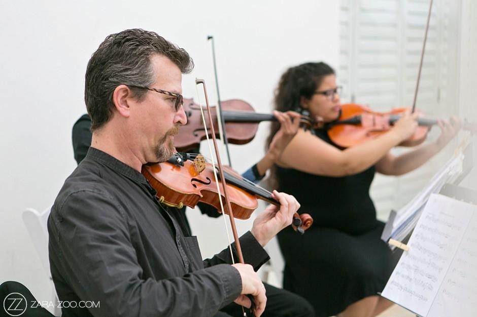 Live Music Violins at Wedding