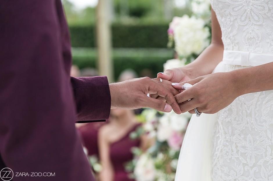 Wedding Photos Ring Exchange Ceremony ZaraZoo