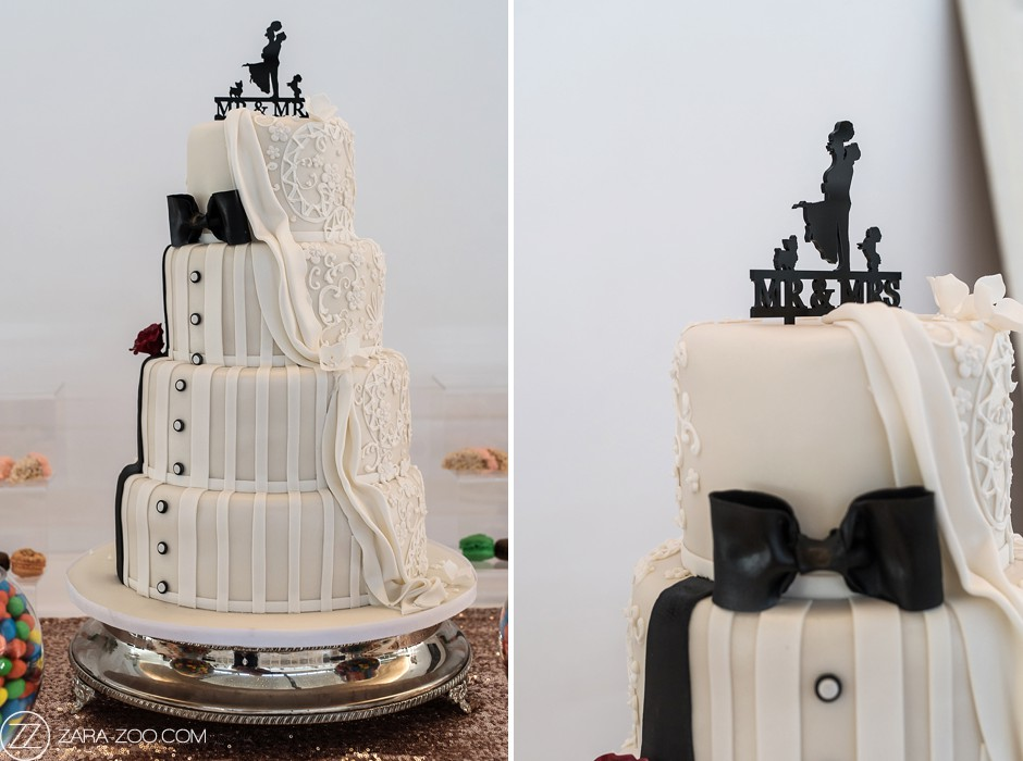 Wedding Cake with Topper Cape Town