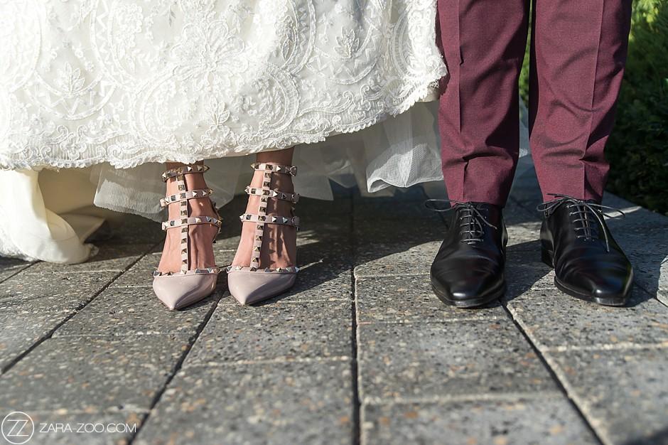 Wedding Shoes Photography