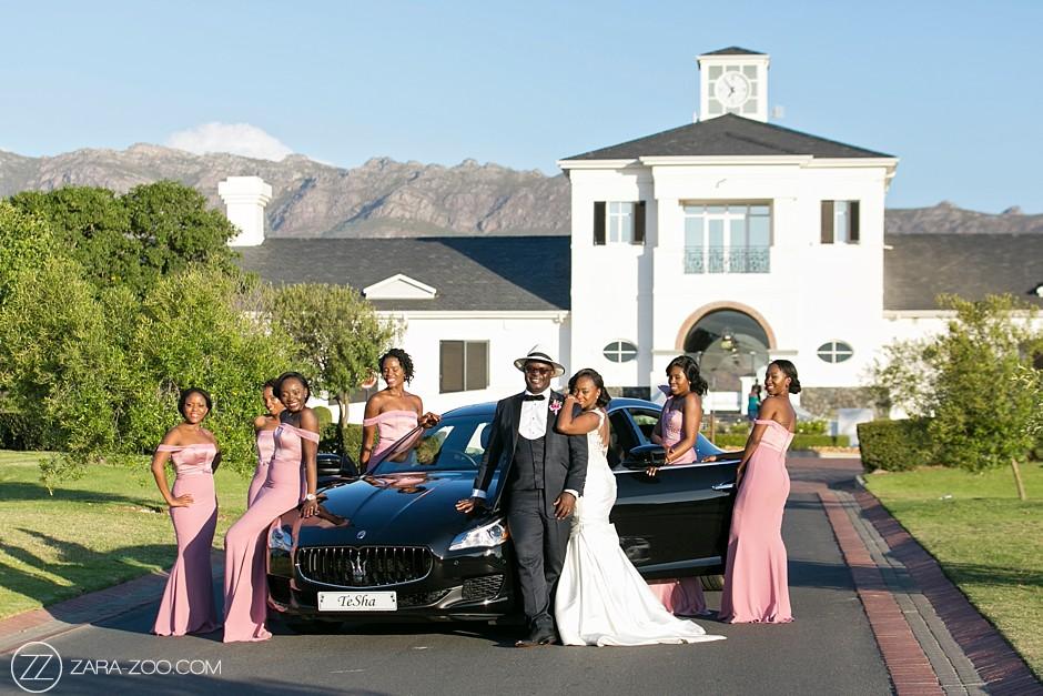 Luxury Weddings in South Africa