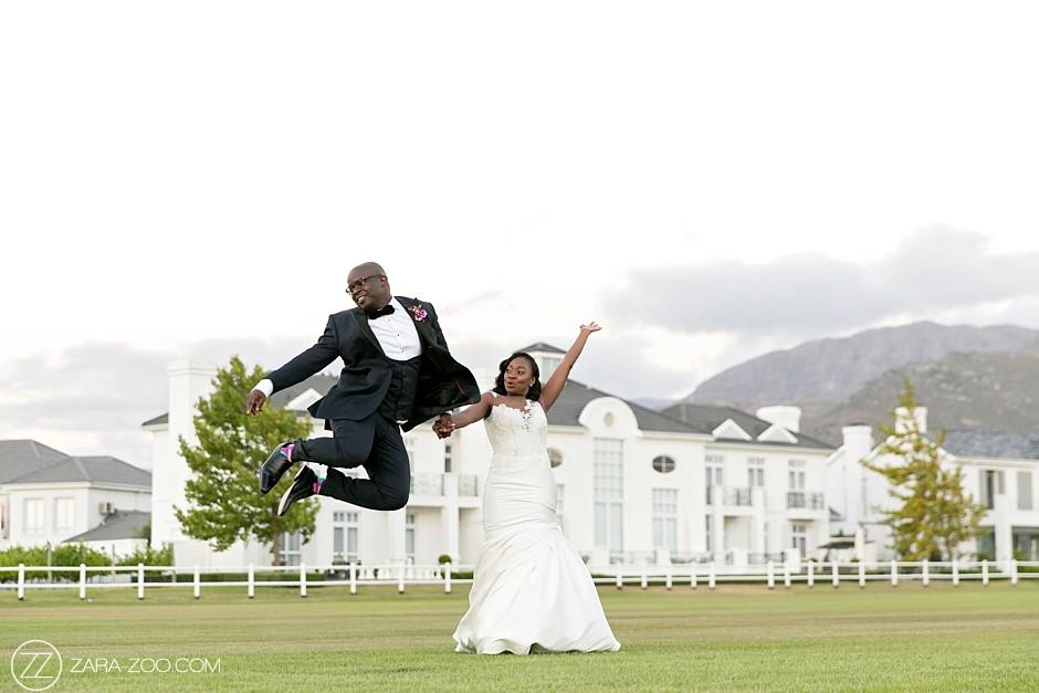 Fun Wedding Photos at Val de Vie