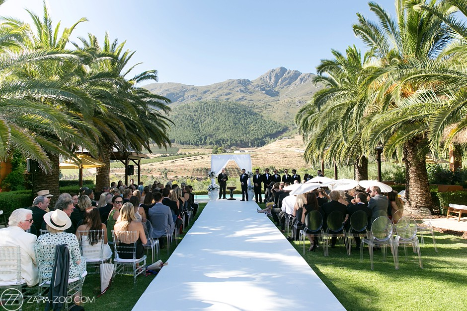 Outdoor Weddings Cape Town