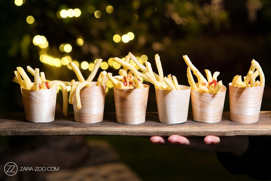 Fries at a Wedding Food