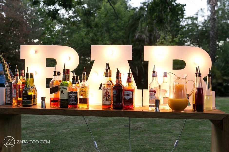 Bar & Drinks at a Wedding ZaraZoo Photos