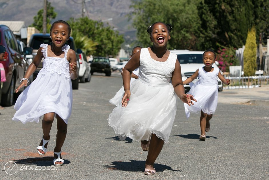 Children at Weddings South Africa