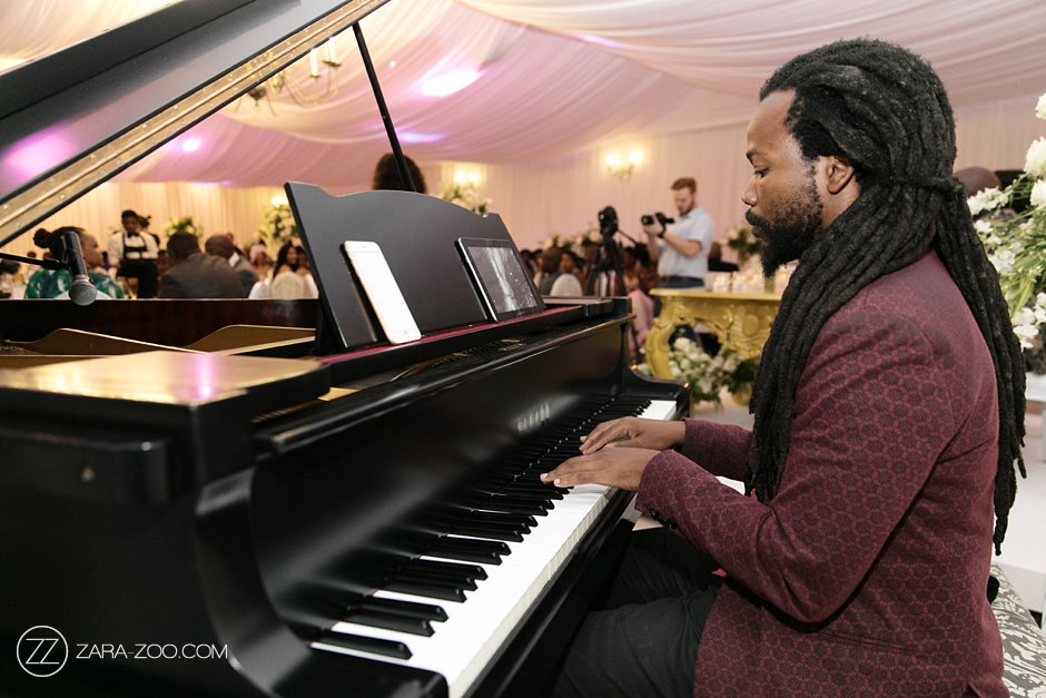Live Piano Music at Weddings Cape Town