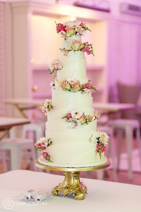 Wedding Cake by Wades Cakes Cape Town